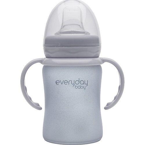 everyday baby Glas-Trinkbecher Sippy Cub 150ml grau