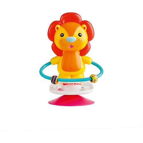 Bumbo Saugnapf Toy - Luca der Löwe rot-kombi