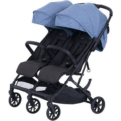 knorr-baby Buggy Geschwisterwagen Twin-Easy Fold, blau