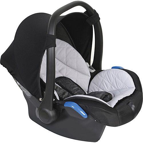 Zekiwa Babyschale Complete, Schwarz/grau schwarz/grau
