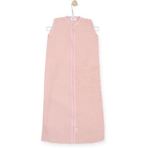 Jollein Sommer-Schlafsack Mull, rosa, 90 cm