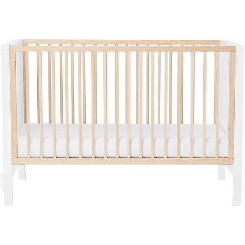 Kinderkraft Kinderbett MIA, inkl. Matratze, 60 x 120 cm, weiß