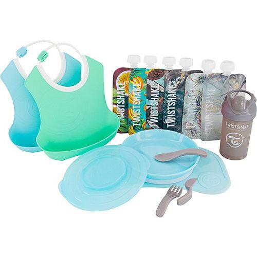 Twistshake Starter Set Geschirr - Boy blau/grün