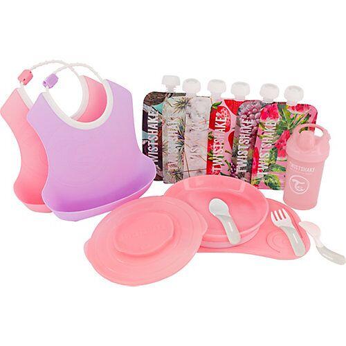 Twistshake Starter Set Geschirr - Girl pink-kombi