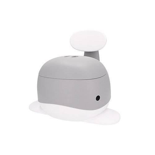 bieco Kinder Wal Töpfchen Baby Toilettentrainer Potty Toiletten mit Lehne Standfest Töpfchen grau