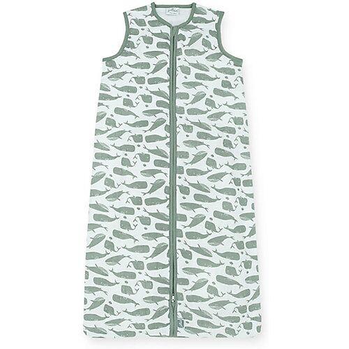 Jollein Sommer-Schlafsack Wal, grau, 90 cm
