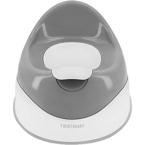 Twistshake Töpfchen Potty Pastel Grey grau