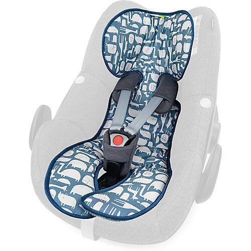 priebes LOLA Sitzauflage Babyschalen - Animali, blau  Kinder