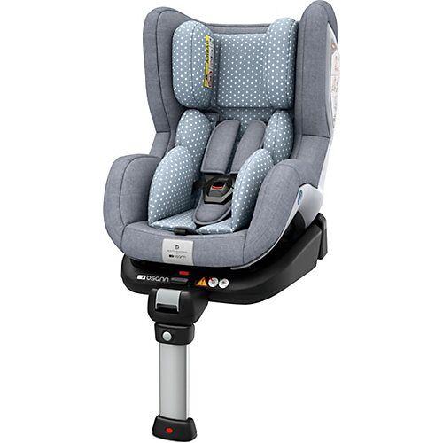 Osann Auto-Kindersitz Fox, bellybutton, Flint Stone, 2018 grau-kombi