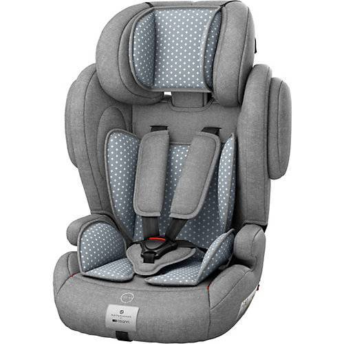 Osann Auto-Kindersitz Flux Isofix, bellybutton, Steel Grey grau