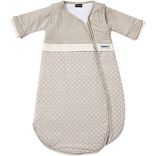 GESSLEIN Schlafsack, Bubou, gepunktet beige, Gr. 70 cm