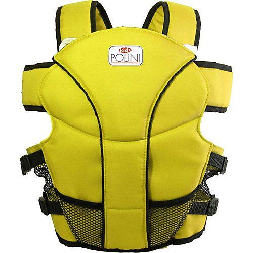 Polini-kids Babytrage Lux, gelb, 0001249-3
