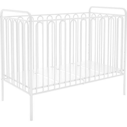 Polini-kids Kinderbett Vintage 150 aus Metall, weiss