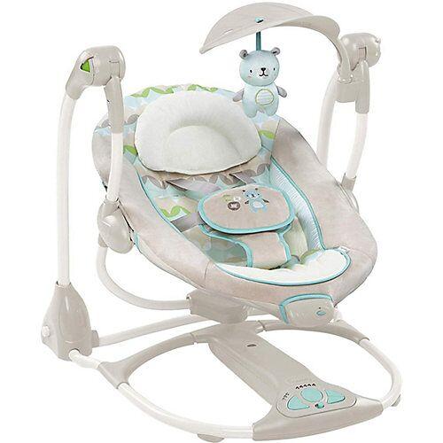 Ingenuity Babyschaukel und -sitz Hamilton, 2 in 1 beige