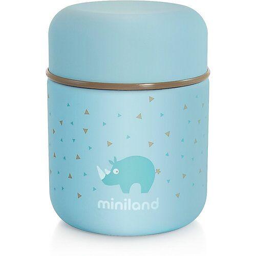 Miniland Thermobehälter Silky Thermo Food, 280 ml, azurblau