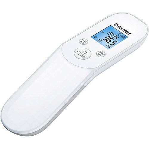 Beurer Kontaktloses Thermometer FT 85, weiß