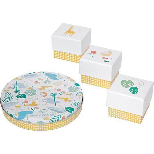 Baby Art Gipsabdruck Set Magic Box, Tukan, 4-tlg. bunt