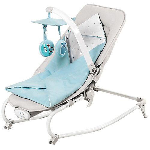 Kinderkraft Babywippe FELIO, light blue hellblau