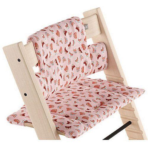 Stokke Tripp Trapp® Classic Baby Kissen, Pink Fox OCS  (Organic Cotton) pink