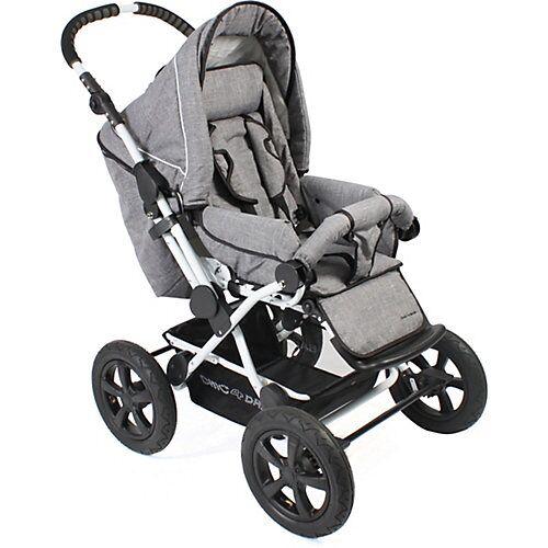 Chic 4 Baby Kombi-Kinderwagen Viva, 2in1, grau