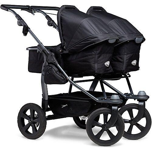 TFK Kombi Kinderwagen TFK Duo, mit Luftkammer Radset, schwarz