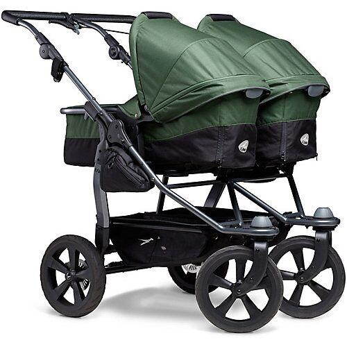 TFK Kombi Kinderwagen TFK Duo, mit Luftkammer Radset, olive khaki