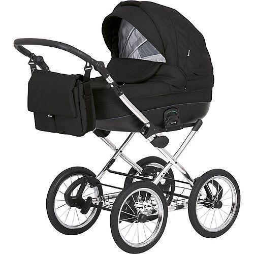knorr-baby Kombikinderwagen klassisch, NAXOS, schwarz