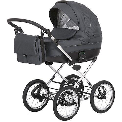knorr-baby Kombikinderwagen klassisch, NAXOS, grau