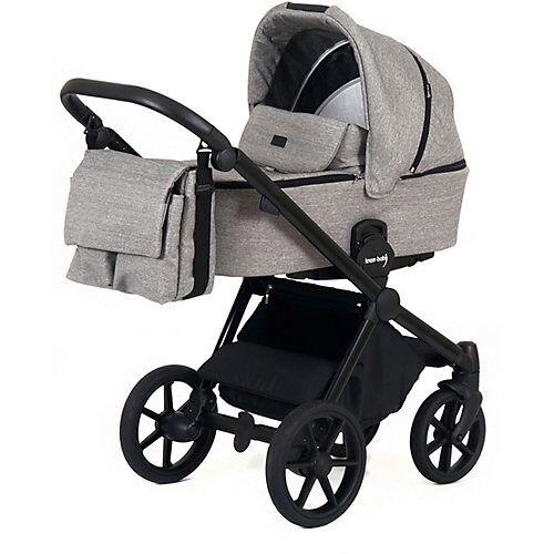 knorr-baby Kombikinderwagen mit Schwenkrädern Life+ 2.0, graphit