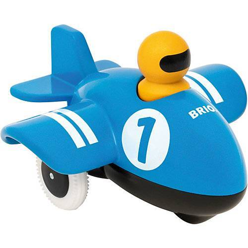 BRIO Push & Go Flugzeug