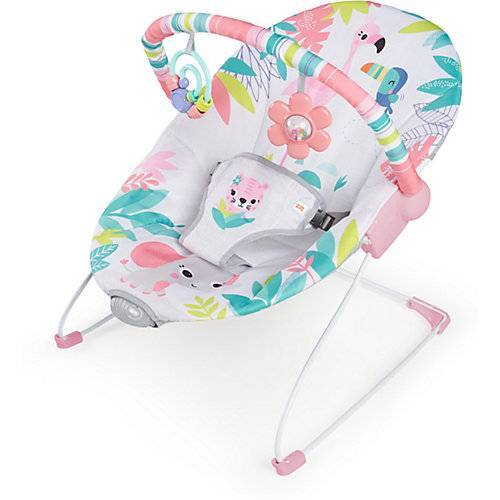 Kids II Flamingo Vibes, vibrierende Wippe pink