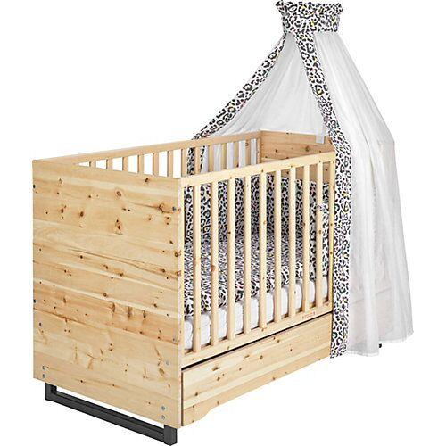 Schardt Kombi-Kinderbett Zirbenholz, 70x140 cm
