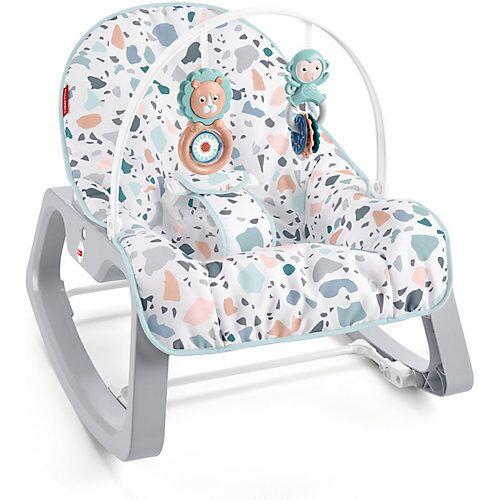 Mattel Fisher-Price Baby Schaukelsitz, Wiegefunktion Babys, Schaukel-Sitz Kleinkinder  Kinder