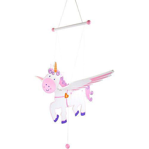 Small Foot Schwingtier Einhorn Luna rosa/weiß