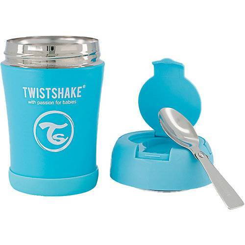 Twistshake Insulated Food Container 350ml Pastel Blue blau