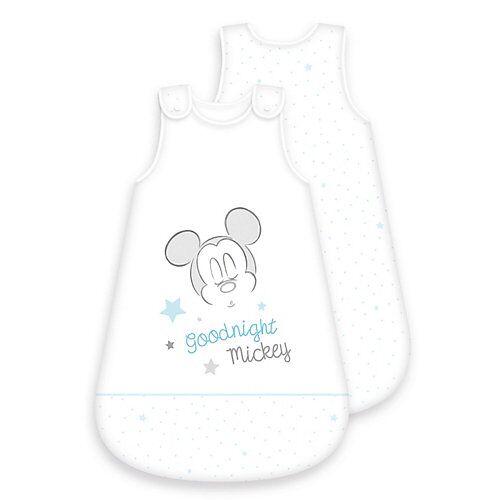 Baby Best® Disney's Mickey Mouse Baby-Schlafsack, 70 cm blau/weiß