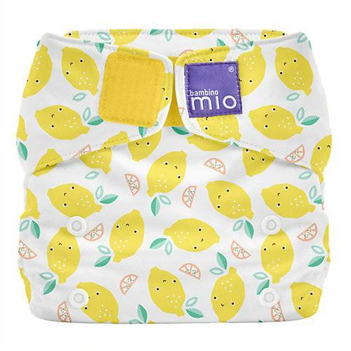 Bambino Mio Stoffwindel Miosolo All-in-One - Zarte Zitrone gelb