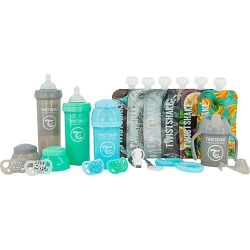 Twistshake Starter Set Flaschen - Boy blau/grün