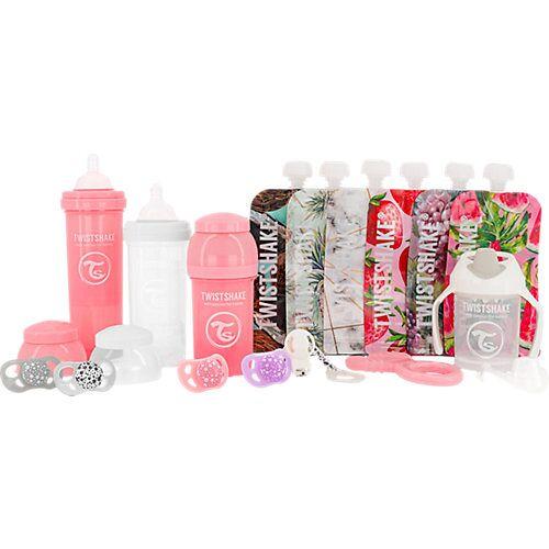 Twistshake Starter Set Flaschen - Girl pink-kombi
