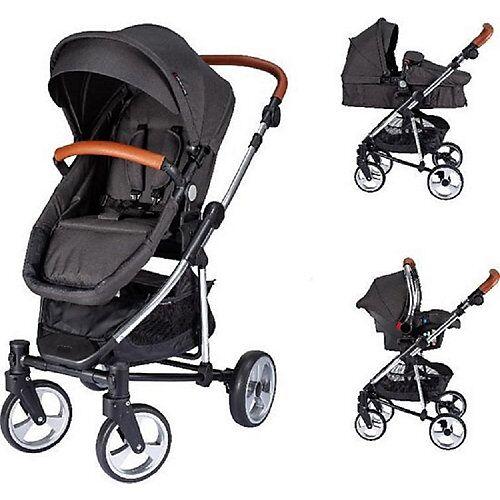 XADVENTURE Kinderwagen Inspire Ltd schwarz