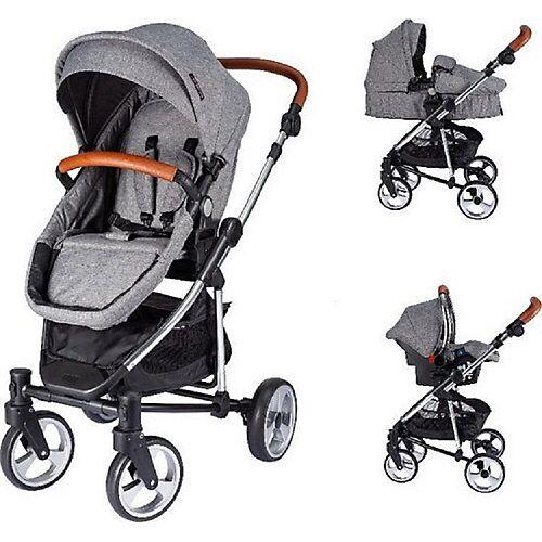 XADVENTURE Kinderwagen Inspire Ltd grau