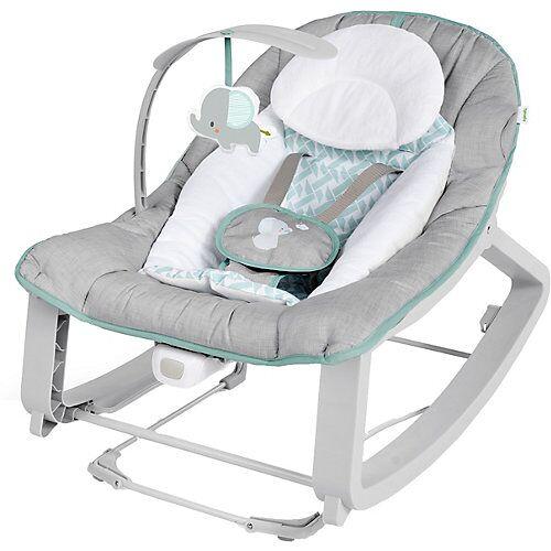 Ingenuity Babywippe Keep Cozy 3-in-1 Grow with Me, Weaver mehrfarbig