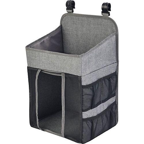 Utensilienbox Windeln und Pflegeprodukte grau  Kinder