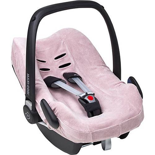Meyco Schonbezug Autositz Velvet, lila, Gruppe 0 rosa