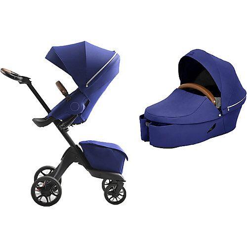 Stokke® Kombi Kinderwagen XPLORY X, Royal Blue blau