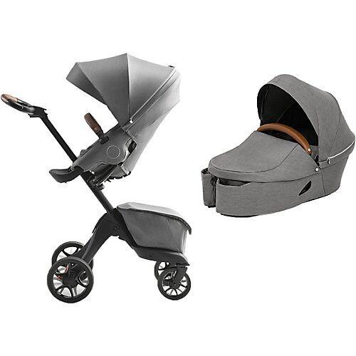 Stokke® Kombi Kinderwagen XPLORY X, Modern Grey grau