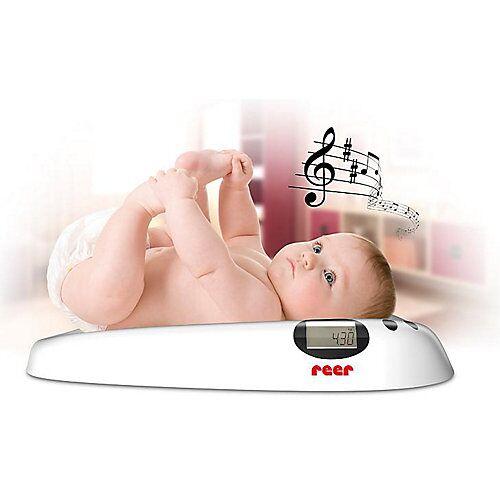 Reer Babywaage mit Musik weiß