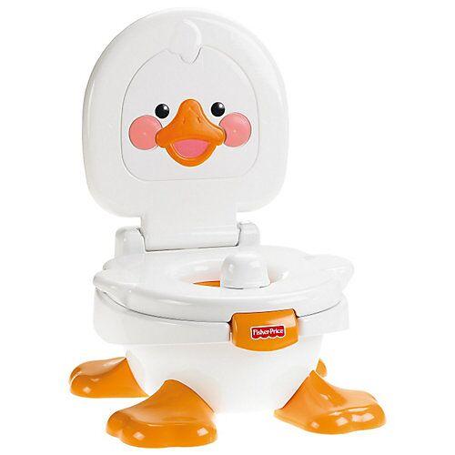 Mattel Fisher-Price Lerntöpfchen und Fußbank - Duckie