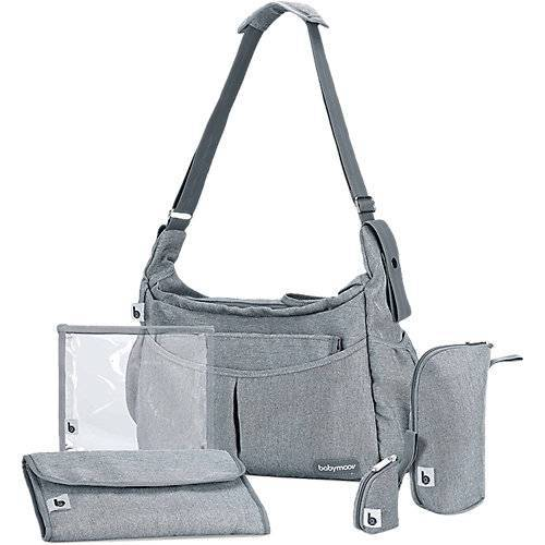 Babymoov Wickeltasche Urban Bag, smokey grau