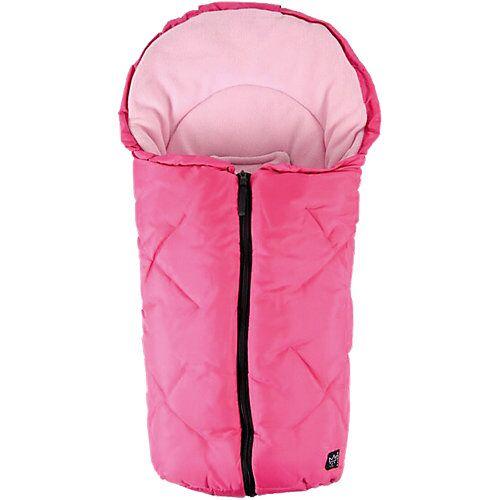 Kaiser Fleece Kuschelsäckchen Babyschale und Kinderwagen, pink  Kinder